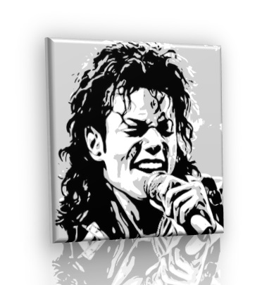 POP ART obraz - Michael Jackson