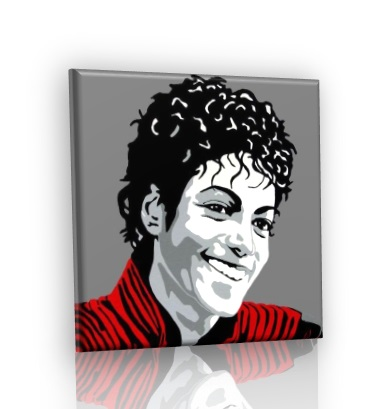 POP ART obraz - Michael Jackson V2