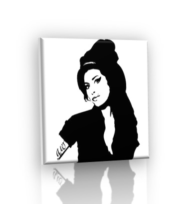 POP ART obraz - Amy Winehouse V2