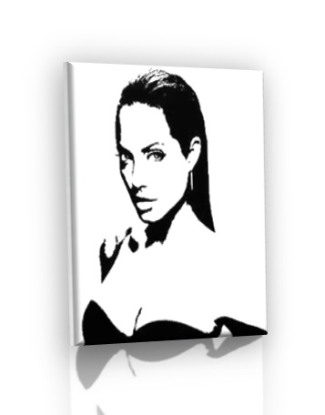 POP ART obraz - Angelina Jolie
