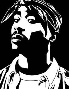 POP ART obraz - 2PAC